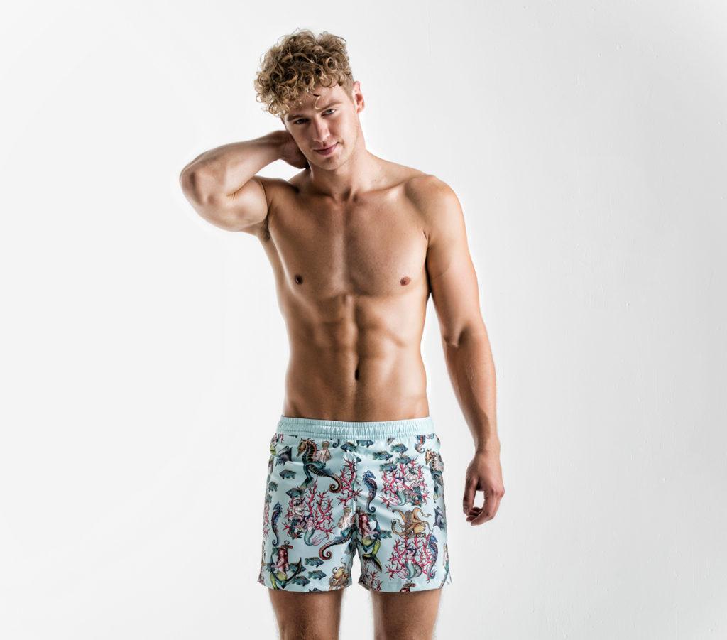 Negretti Sirens Aquamarine Short